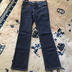 EUC Mossimo Low Rose Bootcut Jeans